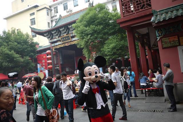 imitation Mickey Mouse in Changsha, China