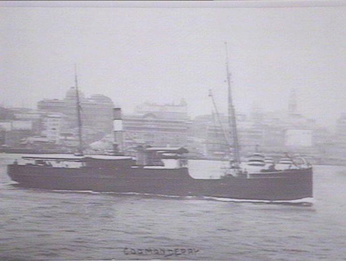 As steamer pre-1915