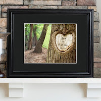 Tree of Love Personalized Print with Frame