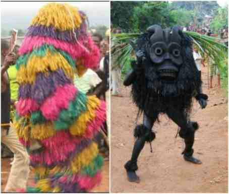 Imo Masquerader chases student to death
