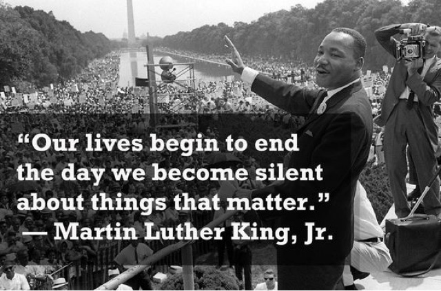 Singing against injustice – Quotes from Martin Luther King Junior | Shivpreet Singh