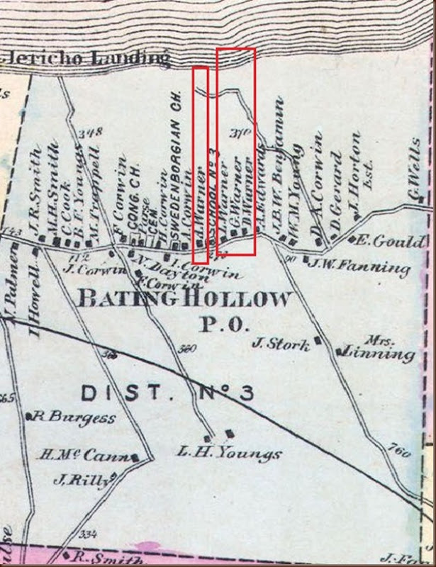 Baiting Hollow map