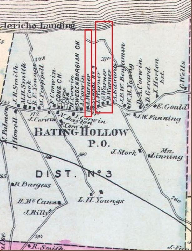Baiting Hollow map