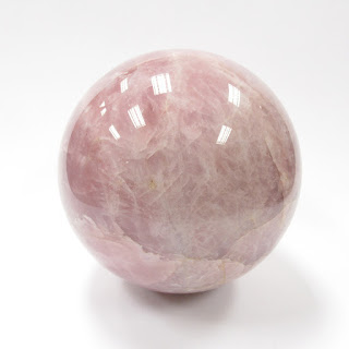 Rose Quartz Large Sphere