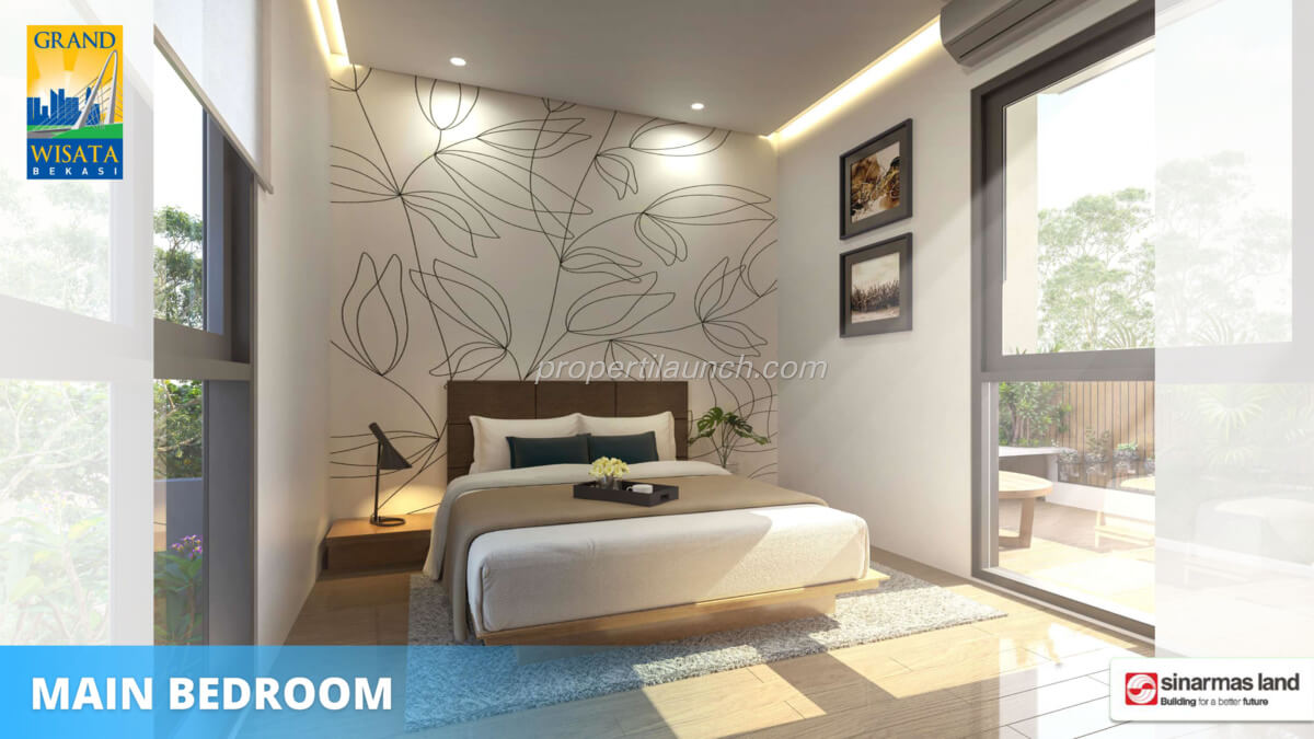 Rumah O8 Bekasi - Master Bedroom