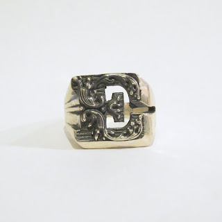 "Sterling Silver Nove25 New Initial ""E"" Ring"