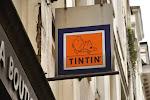 Bruxelles: boutique Tintin