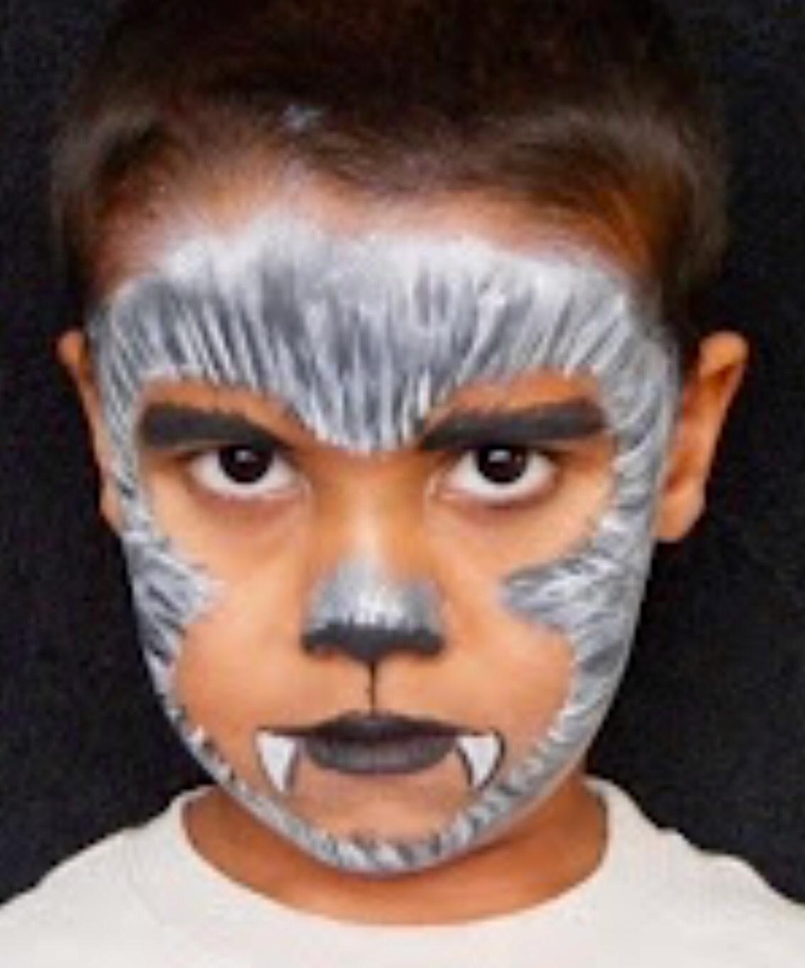 Ideas de maquillaje infantil para halloween gololo y - Pinturas de cara para ninos ...
