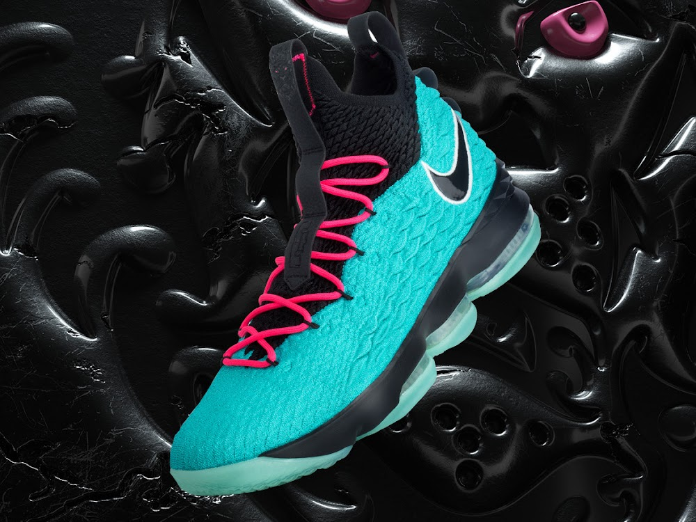 pretty nice d6c0e 2af41 LBJ Debuts South Beach LeBron Watch 15 But Without a Release ...