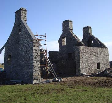 дом в старой ферме, шотландия