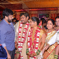 Chinna Srisailam Yadav Daughter  Vanaja Wedding Stills