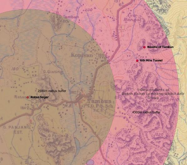 Custom map of Rotan Segar