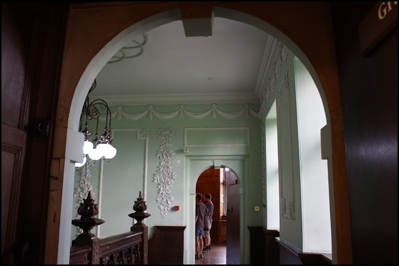 Charlton House - looking out onto the oak staircase