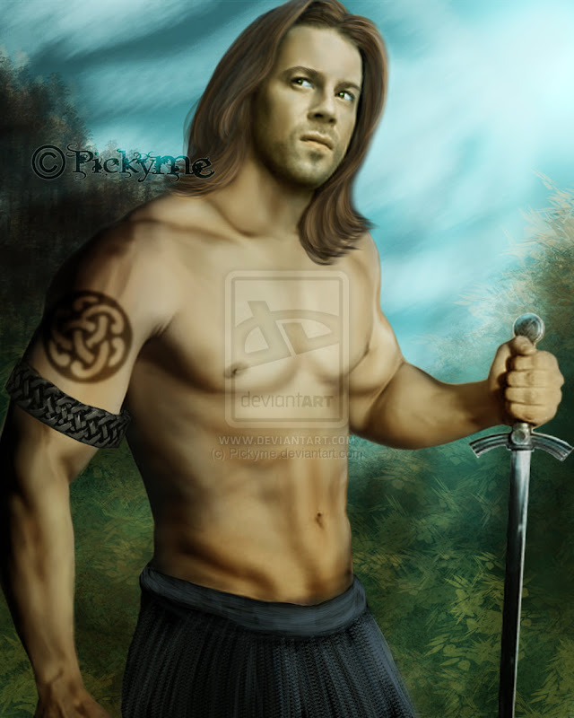 Commisson Work Celt By Pickyme, Celtic And Druids