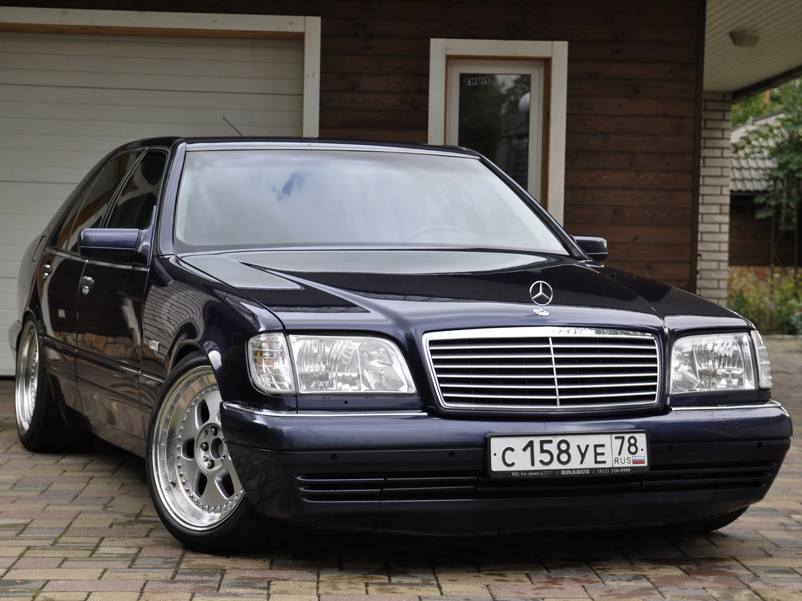 mercedes benz w140 on 19inch mae rims benztuning. Black Bedroom Furniture Sets. Home Design Ideas