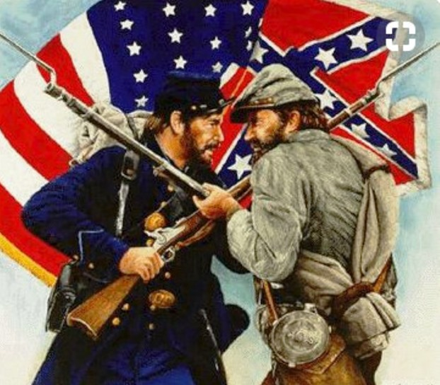 Union vs confederate