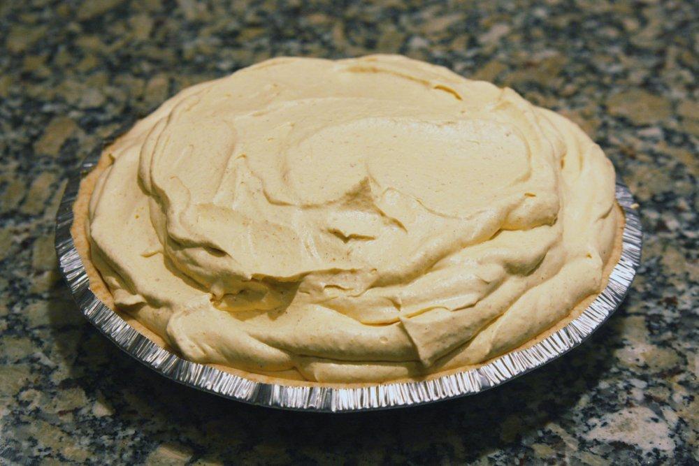 The Pumpkin Project: Frozen Pumpkin Mousse Pie