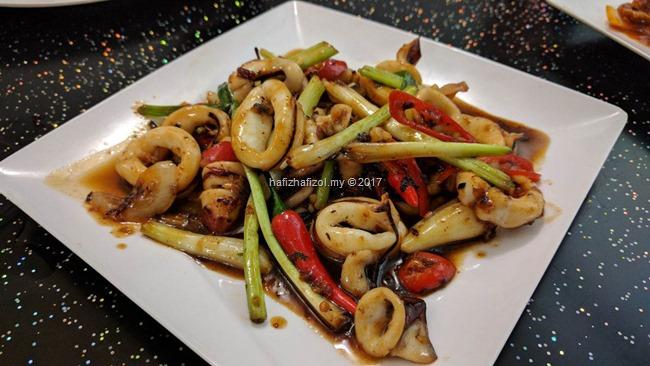 sotong masak merah halal amin vietnam
