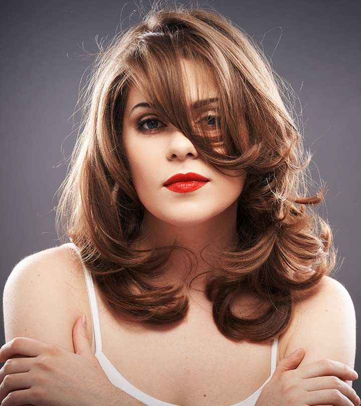 CHIC MEDIUM LENGTH LAYERED HAIRCUTS FOR A TRENDY LOOK