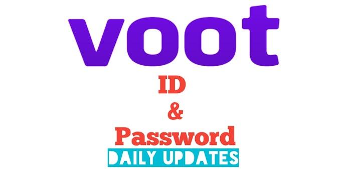 Free Voot Premium Account ID & Password [ Daily Updats ]