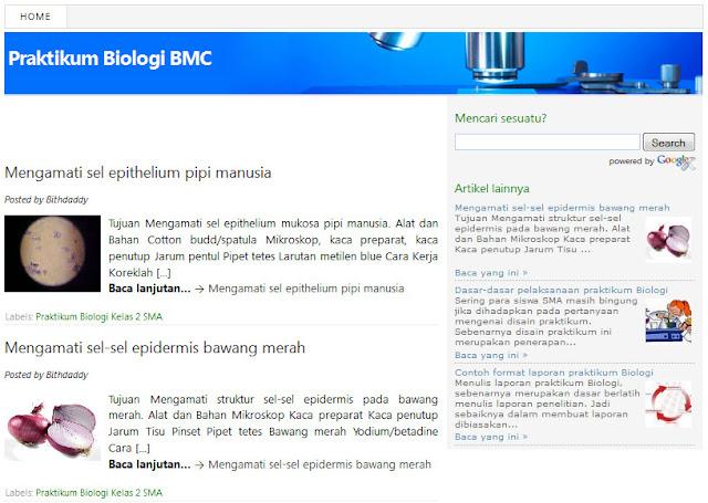 Contoh Laporan Praktikum Biologi Umum Tentang Ekologi Laporan 7