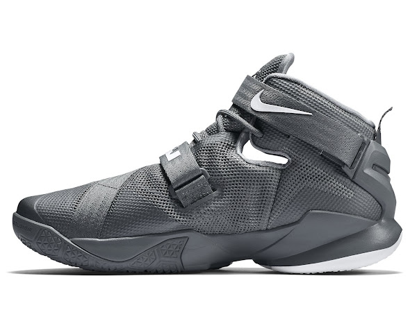 Available Now LeBron Soldier 9 Cool Grey