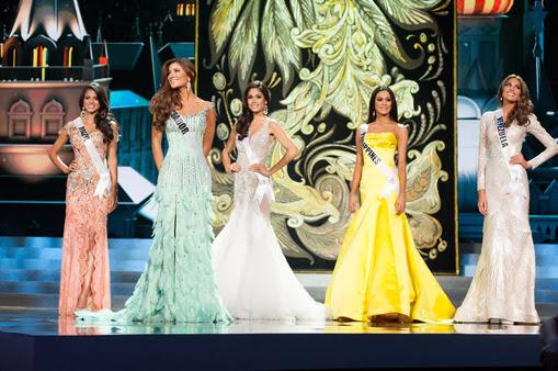 5 finalistas do Miss Universo 2013
