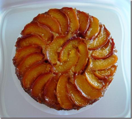nectarine upside down cake2