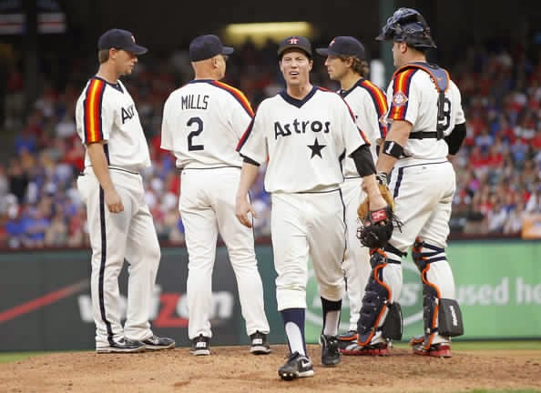 The Ultimate Baseball Look 2012 Houston Astros