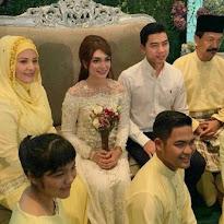 Gambar pertunangan Amyra Rosli dengan Amar