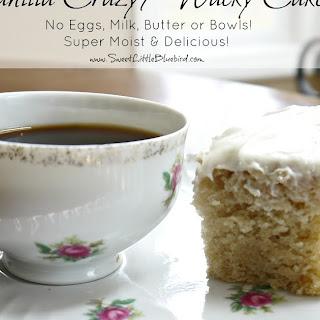 Vanilla Crazy/Wacky Cake
