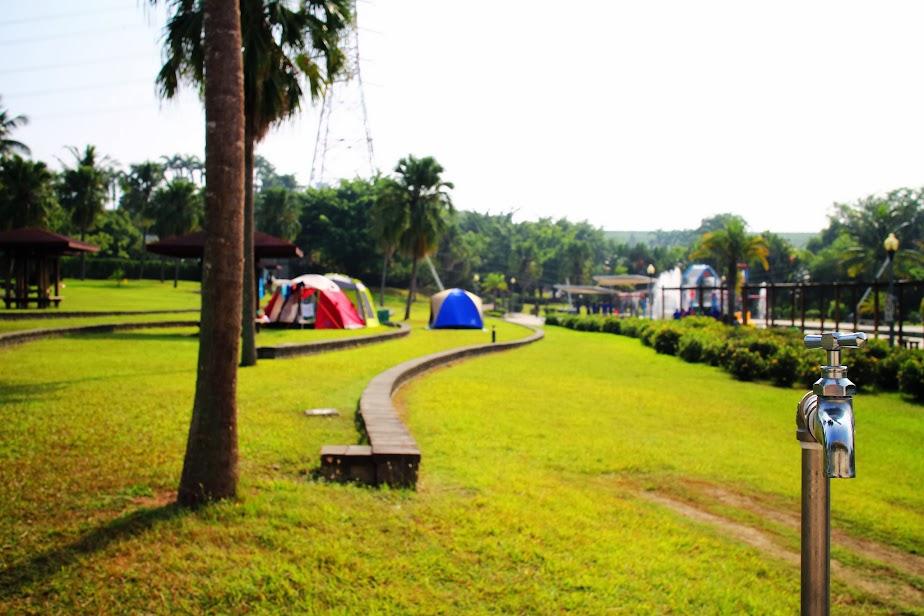 第12露。臺南官田。烏山頭水庫露營區 - 邁向慵懶人生