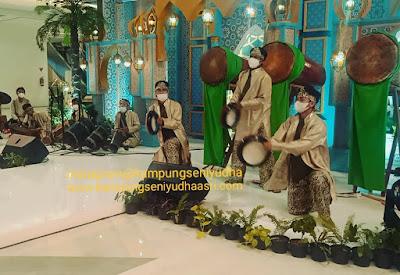Sewa Rampak Bedug Banten Jakarta Murah Dok. Green Sedayu Mall Hari Ke 5