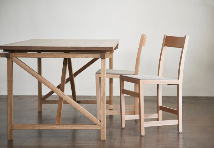 KUMIKI TABLE WAITER CHAIR