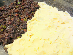 Beer Stout Vegetarian Shepherd's Pie recipe - use up leftover beer by cooking with it!