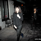 WWW.ENTSIMAGES.COM -   Claudia Winkleman  arriving at BAFTA's SilverLinings Playbook Dinner at Little House Queen Street  London February 8th 2013                                                        Photo Mobis Photos/OIC 0203 174 1069