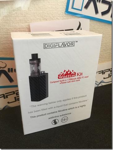 IMG 8840 thumb1 - 【オシャレ系ビルトイン型スターターキット】DIGIFLAVOR Wild Fire Kit(デジフレーバー・ワイルドファイアキット)【レビュー】~カッコイイんだけどもうちょっと容量があったらな~(o'3'o)編~