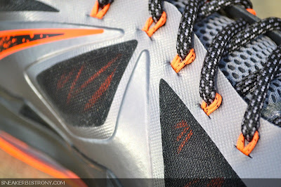 nike lebron 10 gr silver black orange 3 02 Detailed Look at Lava Nike LeBron X That Drops on Saturday