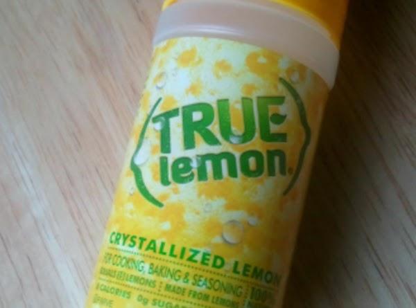 Sprinkle each berry with a little True Lemon.