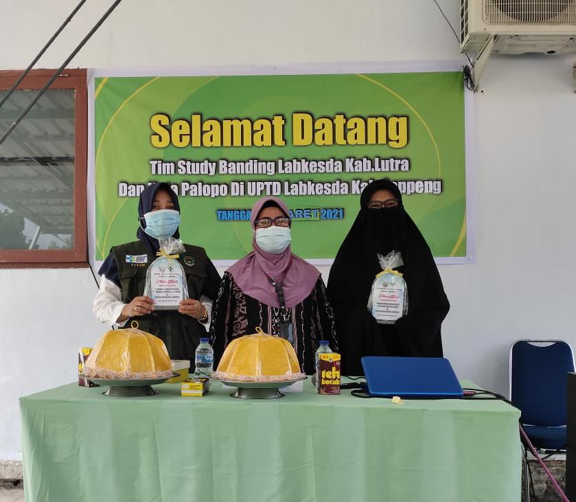 Dinilai Sukses dan Terakreditasi, 2 Daerah Kunjungi Labkesda Kabupaten Soppeng