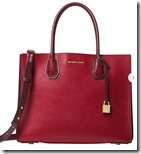 Michael Michael Kors large Red Leather tote