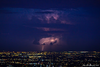 Photo: Captured last Sunday evening with +Kat Dennis and +Shiloh Pfeiffer I am anxious to get back up to Lookout Mountain again this evening for some more storm action photography. The view from up here is just amazing overlooking the entire Denver metro area.