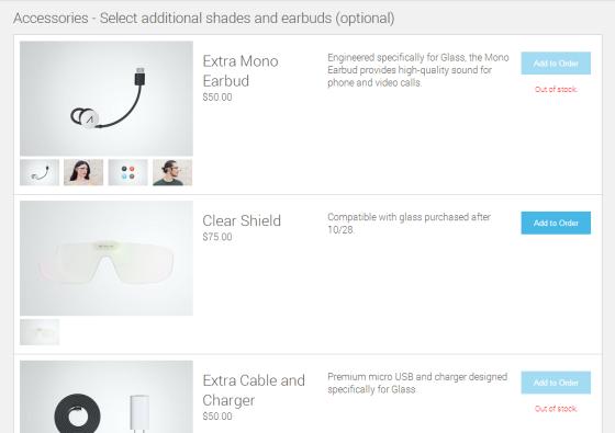 Google Glass Zubehör