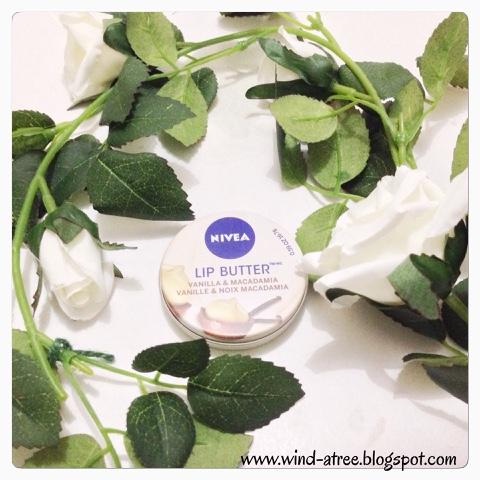 [Review] Nivea Lip Butter Vanilla & Macadamia