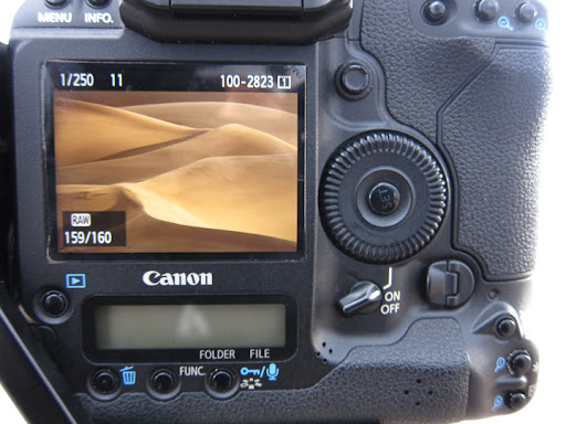 Behind the lens look at a photo in Great Sand Dunes National Park