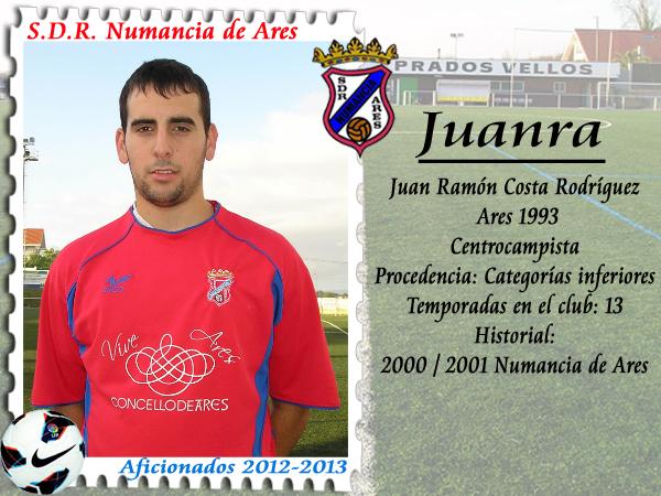 ADR Numancia de Ares. Juanra.