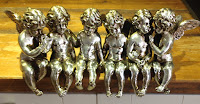 Sitting row of cherubs £49.00