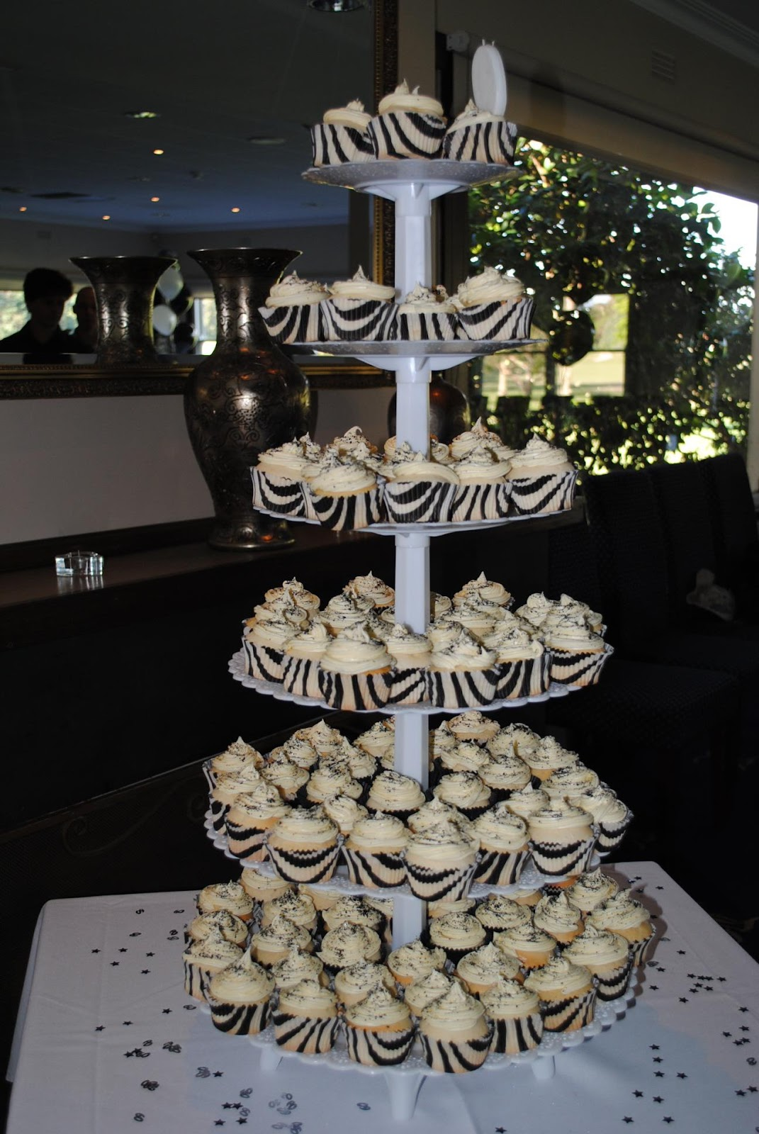 Wedding Cupcake Stand - 6 tier