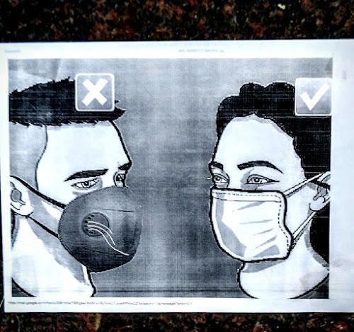 What type of mask protects you from Covid 19 Corona 2019 Sars Mars Cov2 virus India Kolkata Hospitals do's don'ts Hospital Institute of Neurosciences INK public health interest right face facial Masks full protection