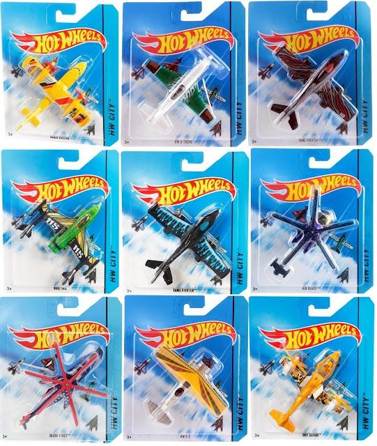Sản phẩm Mô hình Máy bay Hot wheels Sky Busters City BBL47 được bán riêng